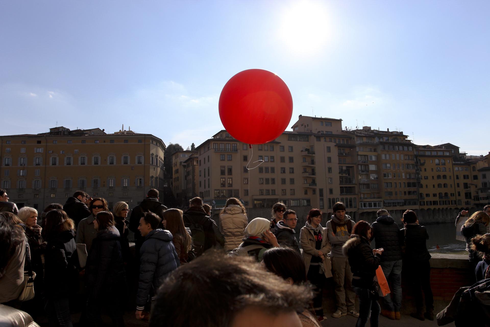 firenze - pallone rosso