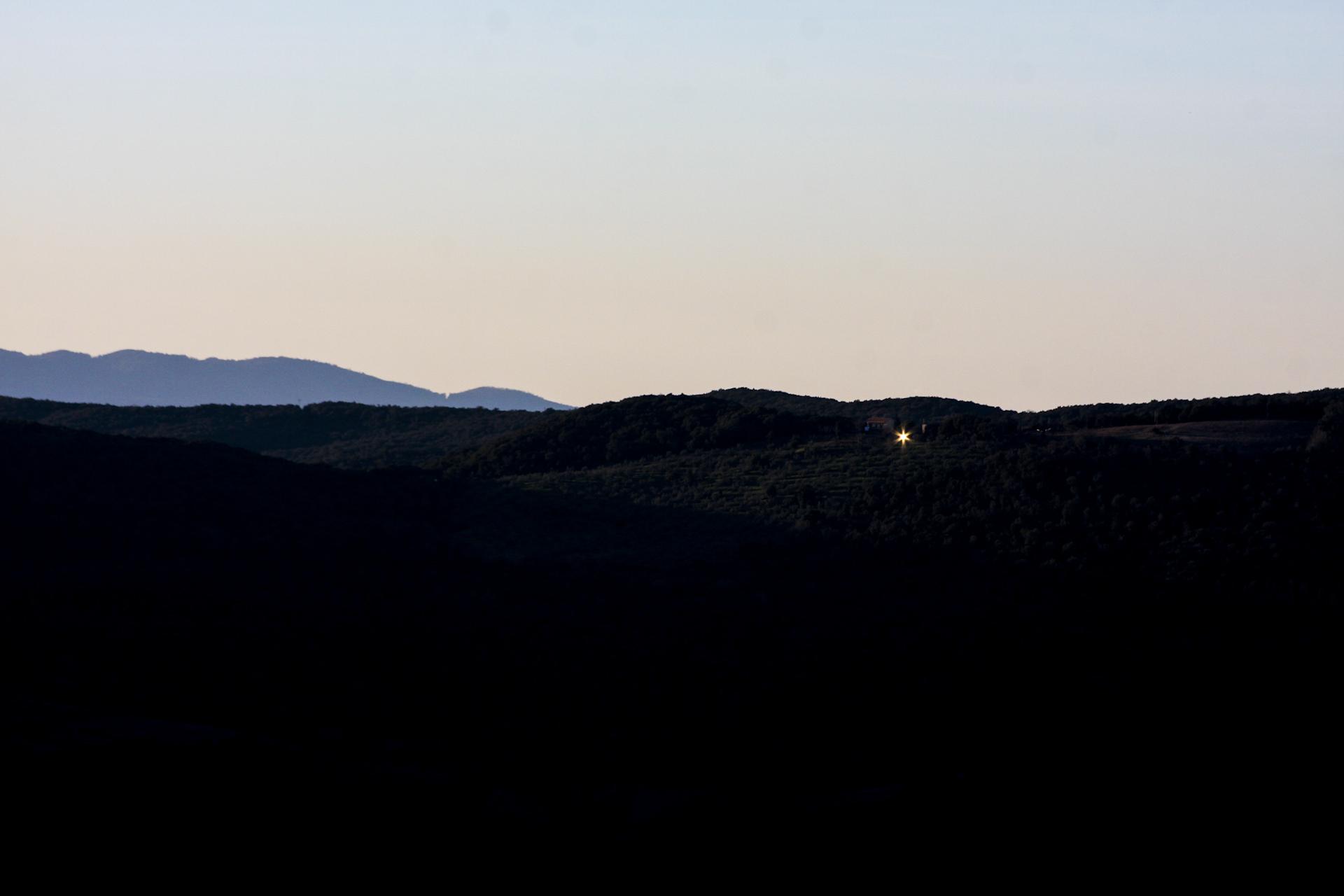 riflesso colline